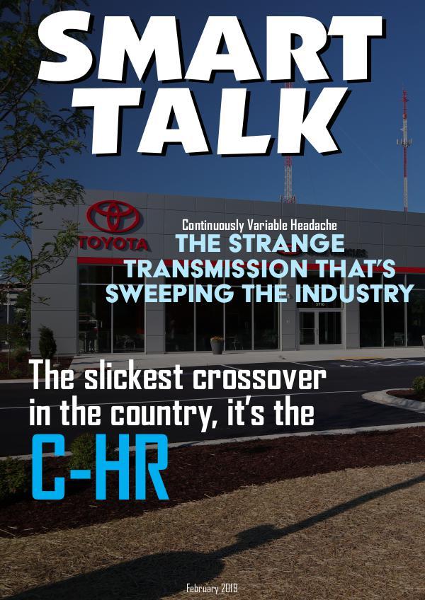 Smart Talk Newsletter - Toyota in Madison, WI Smart Talk February