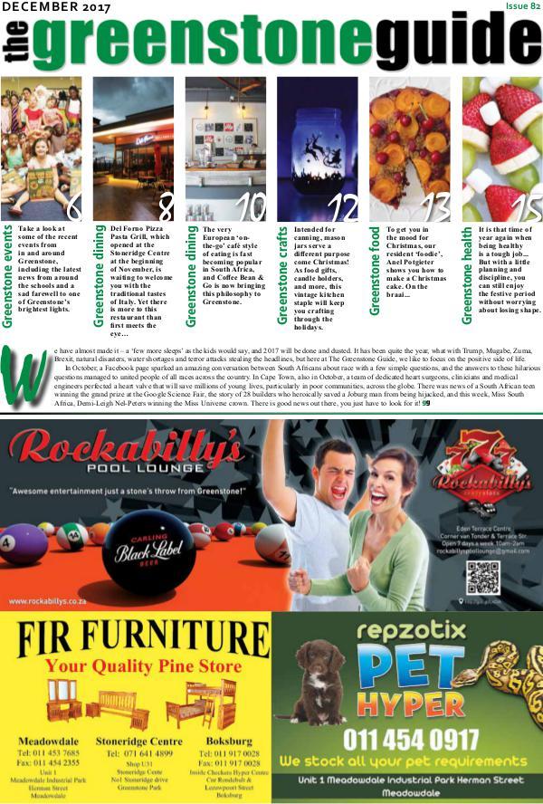 The Greenstone Guide December 2017