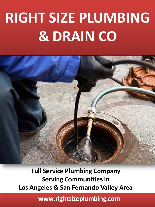 Right Size Plumbing Winnetka Right Size Plumbing & Drain Co