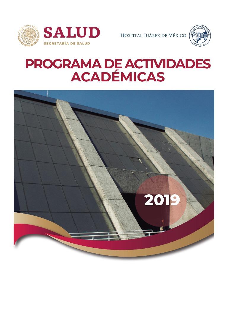 Programa de Actividades 2019 Programa de Actividades 2019