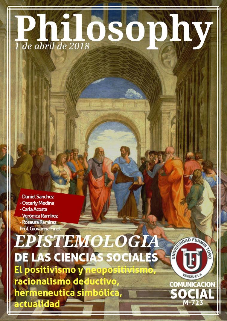 Philosophy Etimologista de las ciencias sociales