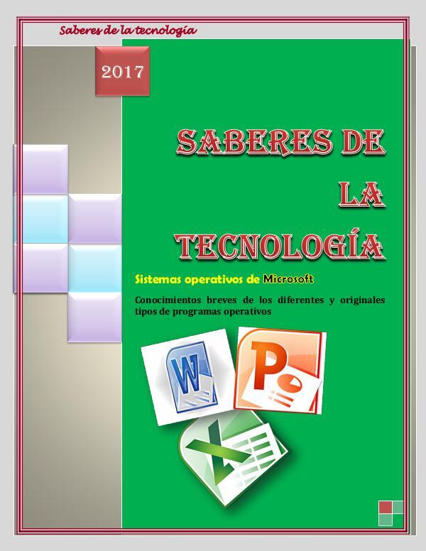 Saberes de la tecnología REVISTA - KARELYS CASANOVA - CEDULA 16.811.011