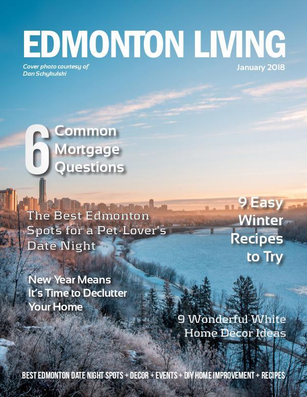 Edmonton Living Magazine January 2018