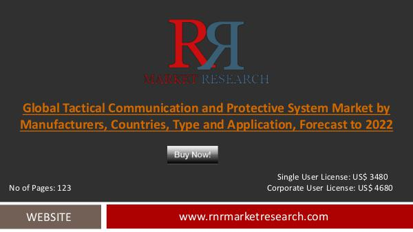 Tactical Communication and Protective System Market 2017: Tactical Communication