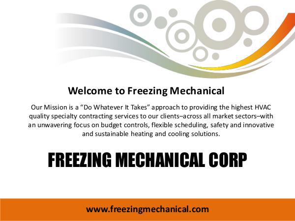 Freezing Mechanical Corp Freezing Mechanical Corp