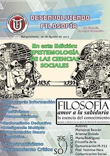Desenvolviendo Filosofía || Revista Educativa