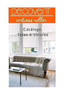 Catálogo Decovent - cortinas roller 2017