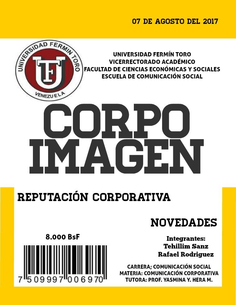 CorpoImagen Revista CorpoImagen