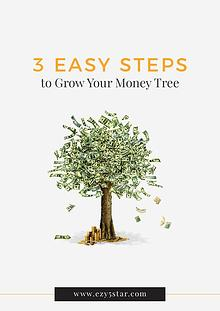 3 Steps to Grow Your Money Tree