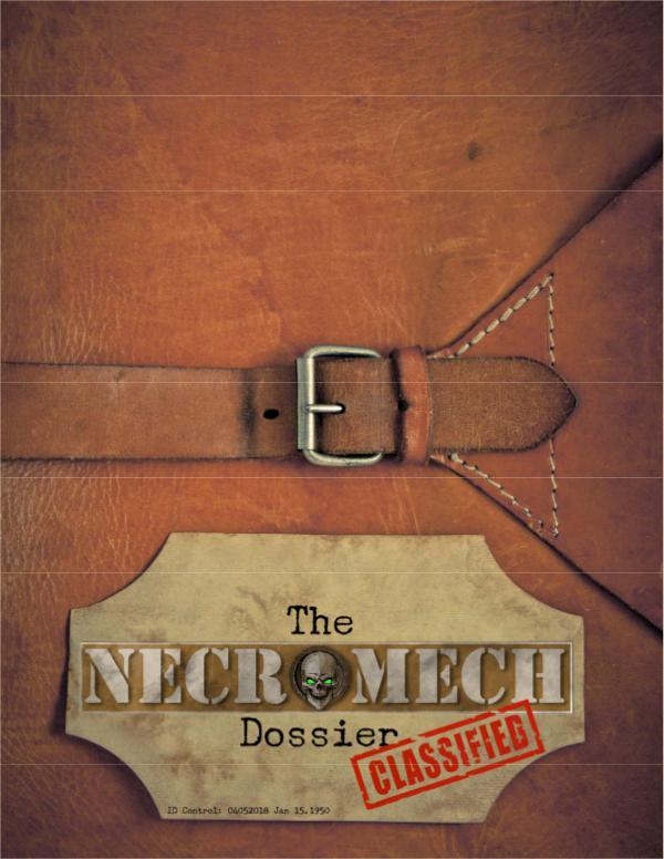 The NecroMech Dossier Core Manual April 2018