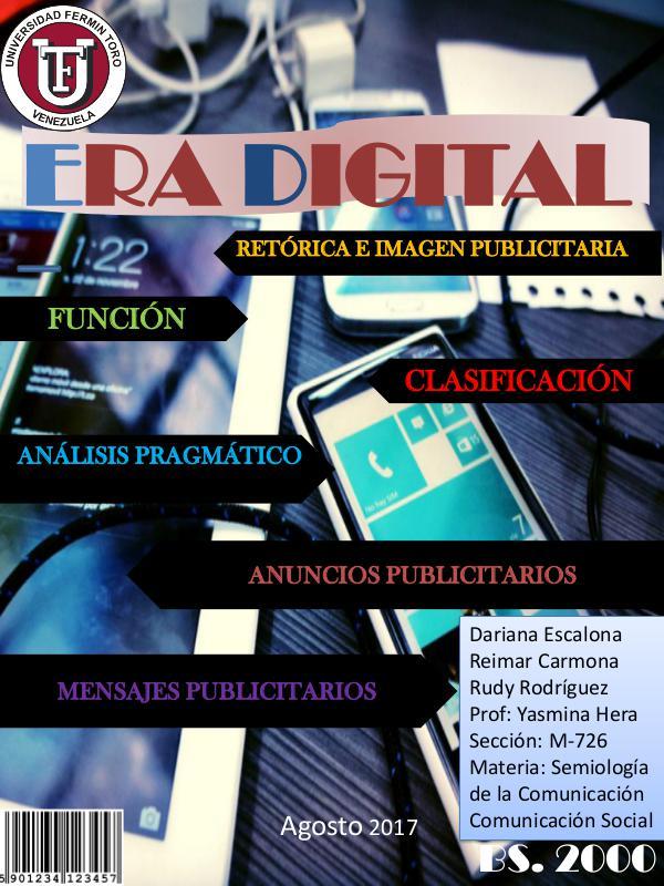 Era digital revista de semiologia