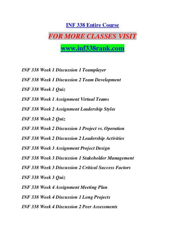 INF 338 RANK Extraordinary Success/inf338rank.com INF 338 RANK Extraordinary Success/inf338rank.com