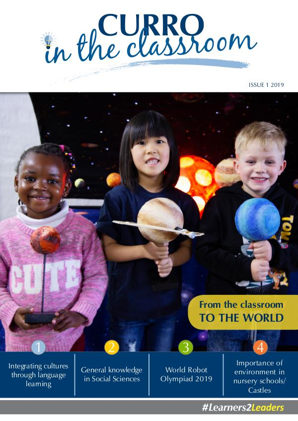 CURRO IN THE CLASSROOM Issue 1 - 2019