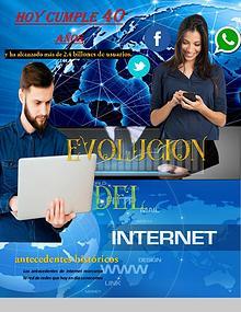 EVOLUCION DEL INTERNET
