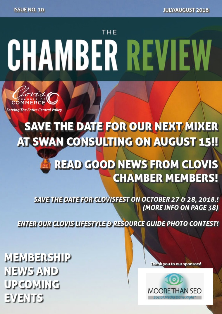 The Chamber Review July/August 2018