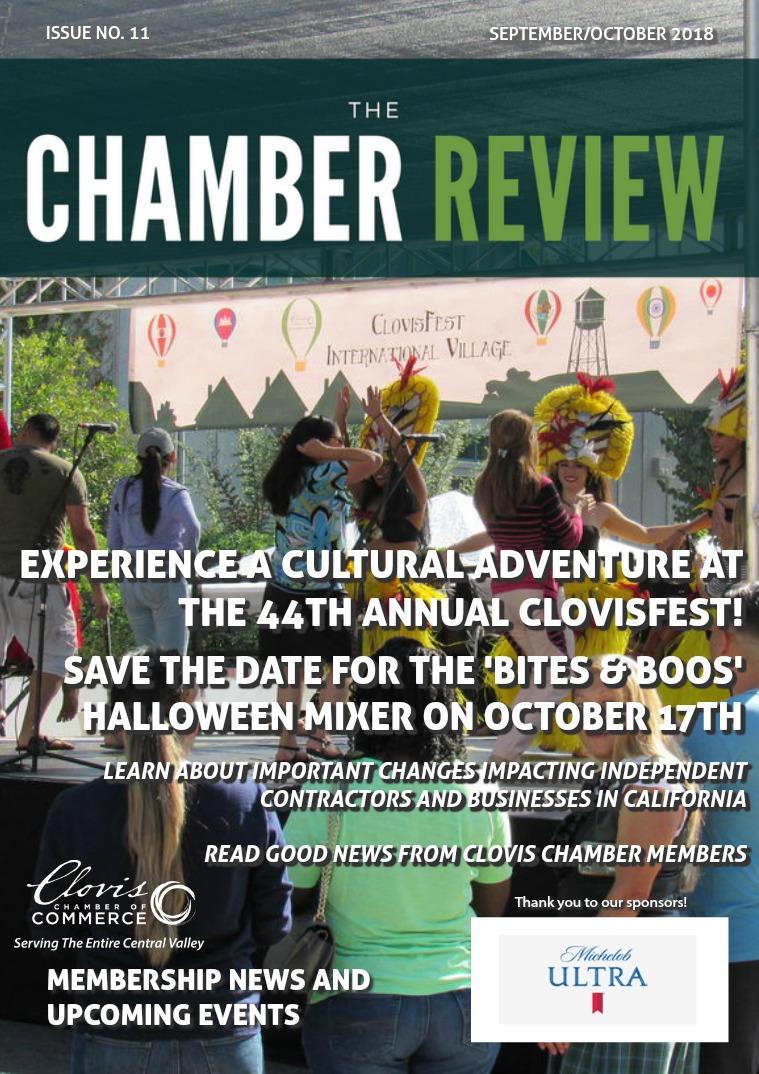 The Chamber Review September/October 2018