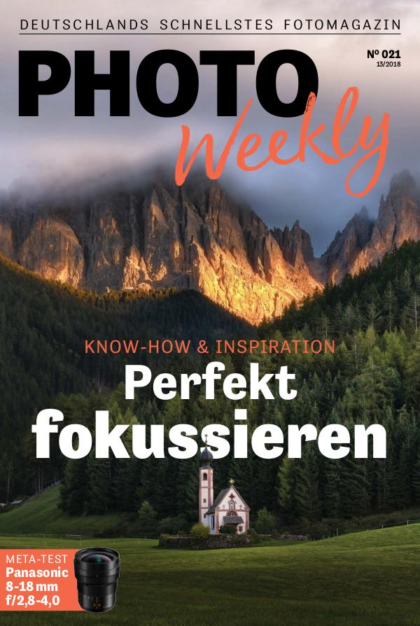 PhotoWeekly 13/2018