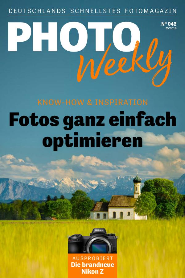 PhotoWeekly 35/2018