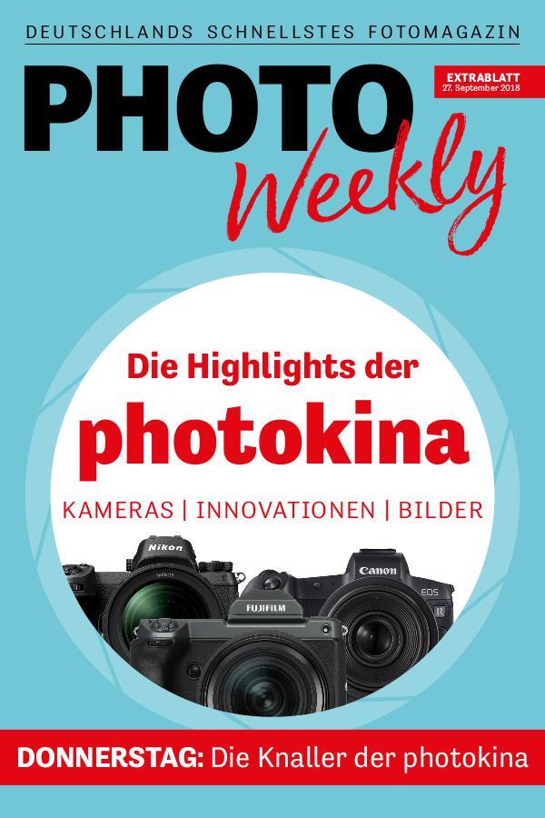 PhotoWeekly Extrablatt photokina 27.9.18