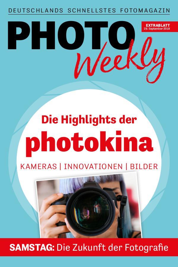 PhotoWeekly Extrablatt photokina 29.9.18