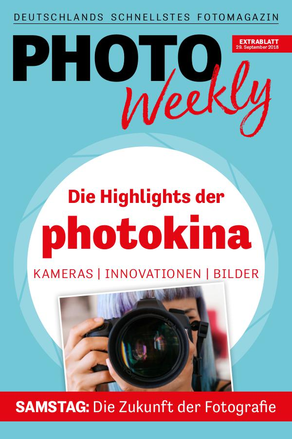 PhotoWeekly Extrablatt photokina 29.9.18
