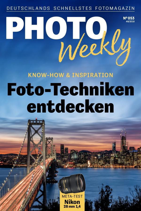 PhotoWeekly 46/2018