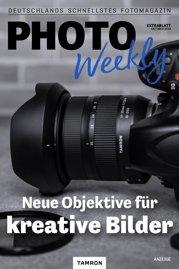 PhotoWeekly Extrablatt 05.10.2019