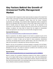 Key Developments By Key Players in Unmanned Traffic Management Market