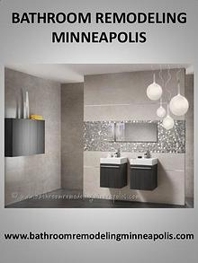 Bathroom remodel Minneapolis