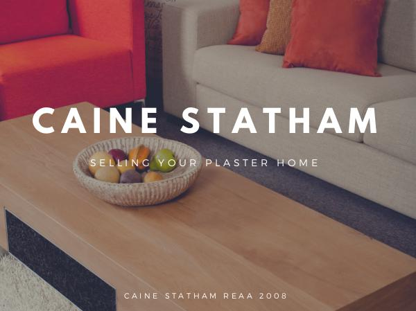 Caine Statham CAINE STATHAM - The Plaster Home Specialists