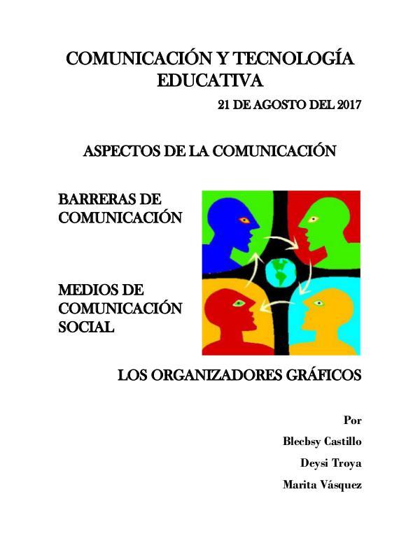 ASPECTO DE LA COMUNICACIÓN COMUNICACIÓN Y TECNOLOGÍA EDUCATIVA PDF 2