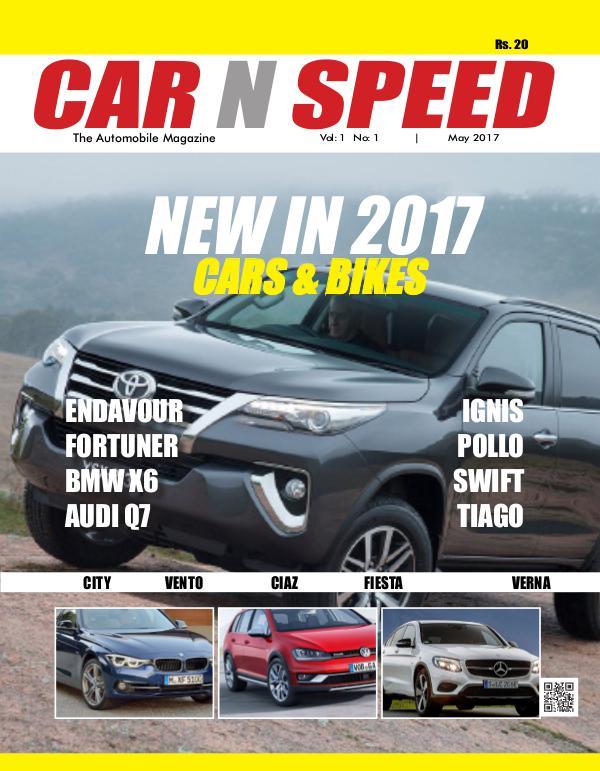 Car N Speed |  Automobile Magazine July 2017 Car N Speed
