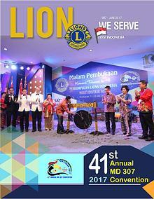 Majalah Lion Indonesia Mei - Juni 2017