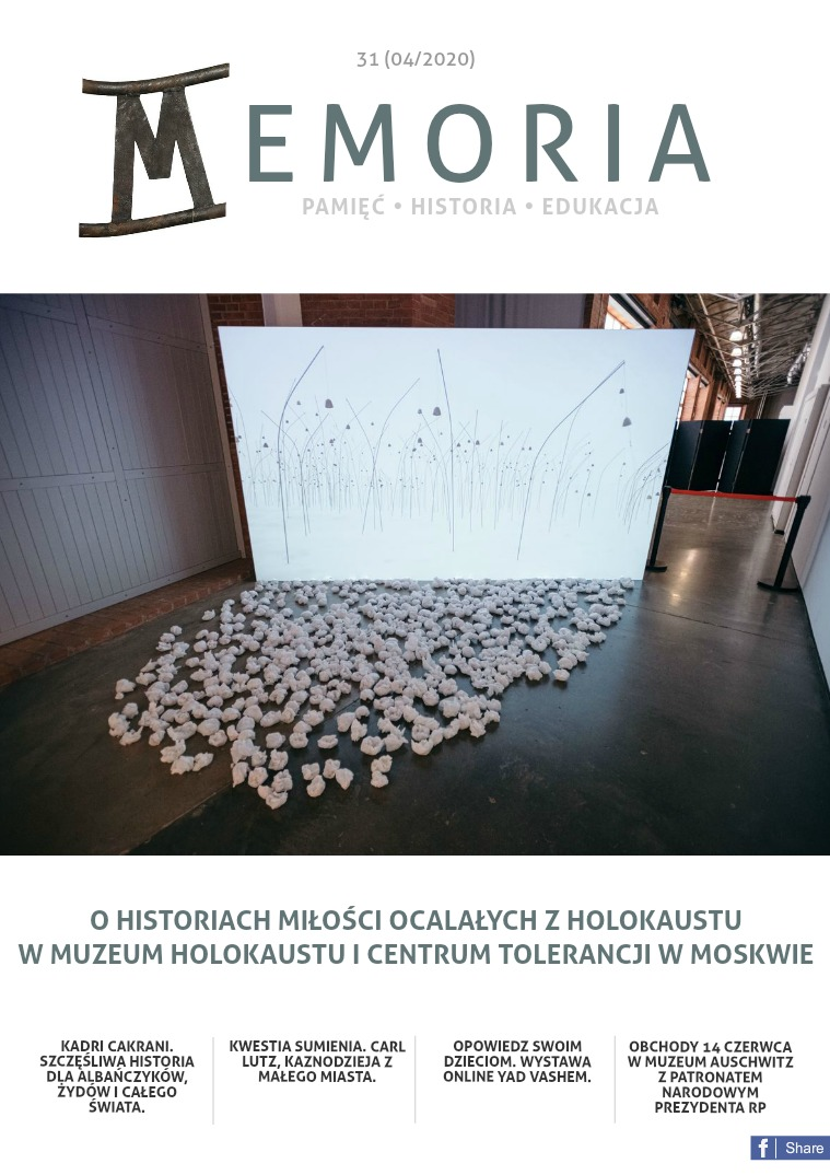 Memoria [PL] Nr 31 (04/2020)