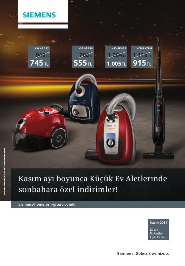 2017 Siemens KEA_FIYAT LISTESI_KASIM_2017