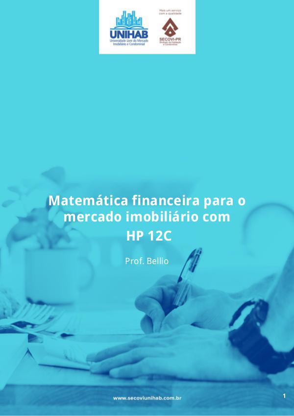Matemática Financeira Material Didático Matemática Financeira