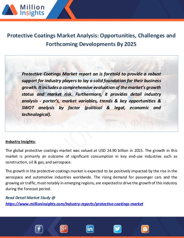 Market News Today Protective Coatings Market