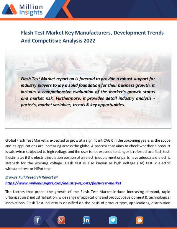 Market News Today Flash Test Market