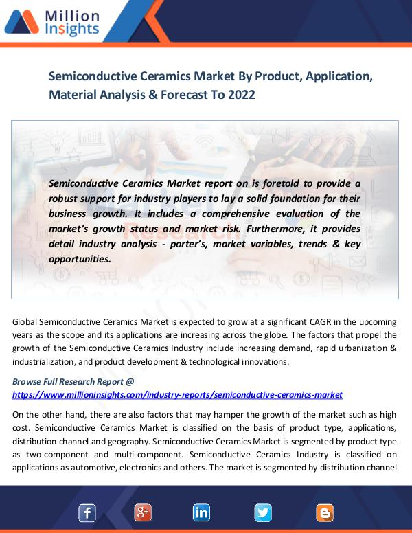Market News Today Semiconductive Ceramics Market