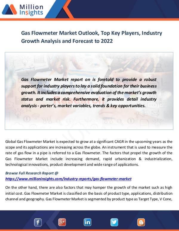 Gas Flowmeter Market