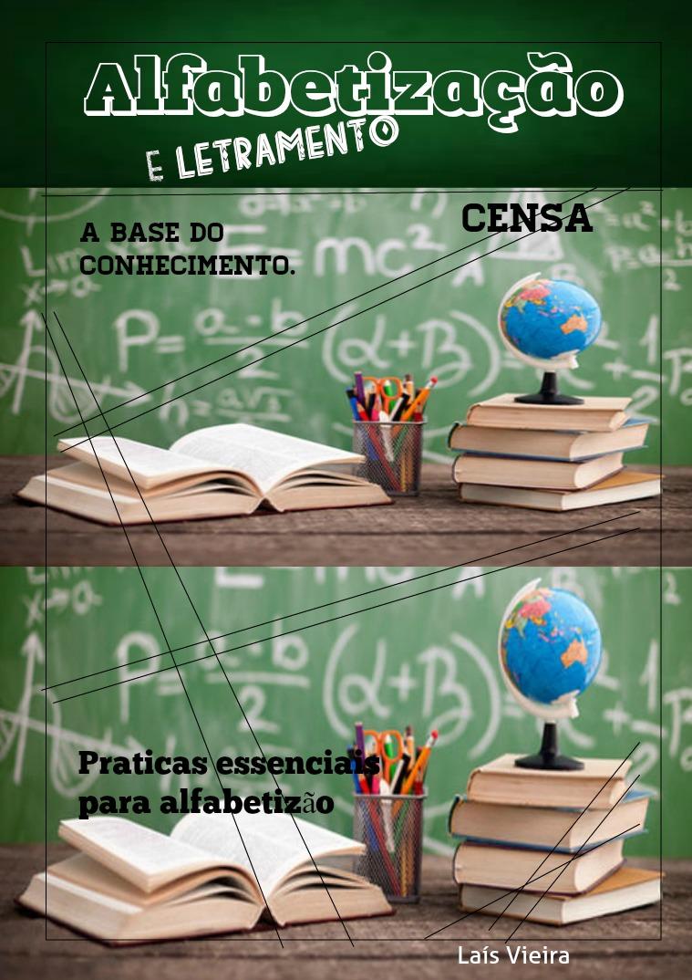 Minha primeira Revista volume 1 educação alfabetização