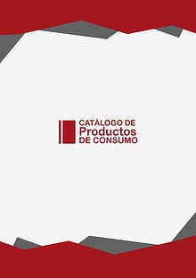 Catálogo Productos de Consumo