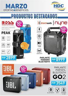 Productos Retail Marzo 2020