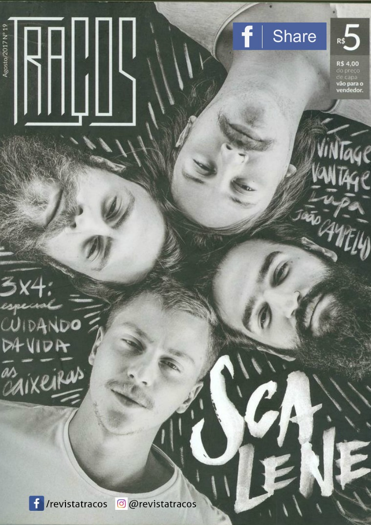 Revista Traços cópia da edição impressa