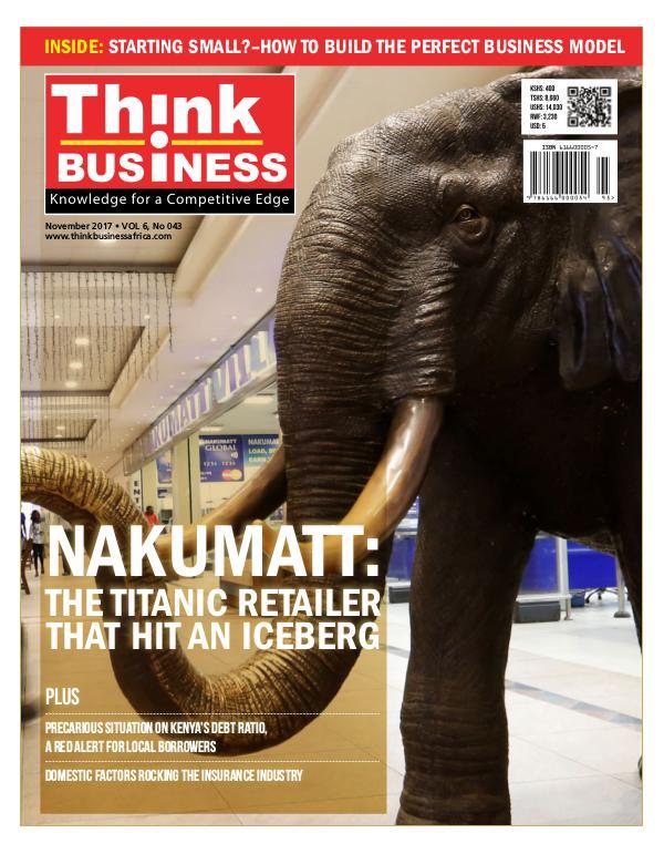 Think Business Magazine November Issue
