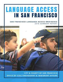 San Francisco Language Access Ordinance Report 2018