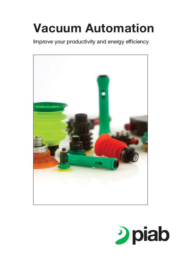 Piab's magazines, Eng (Metric) Automation Brochure