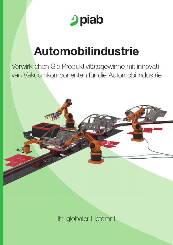 Piabs magazines, German Automotive industry