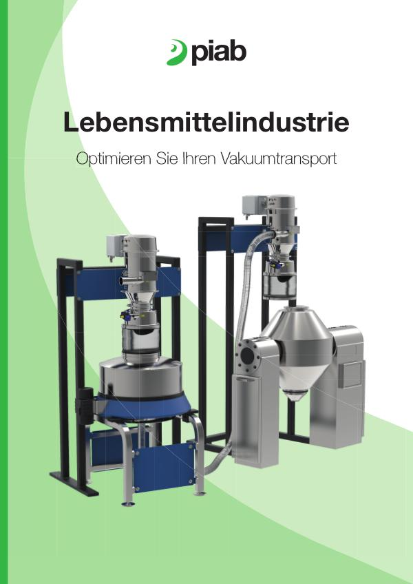 Piabs magazines, German Food Industry