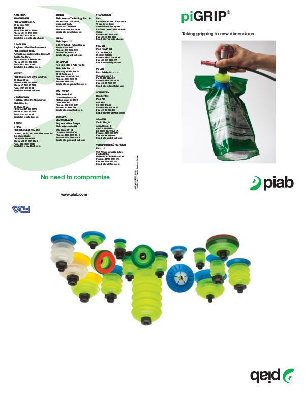 Piabs magazines, German piGRIP poster